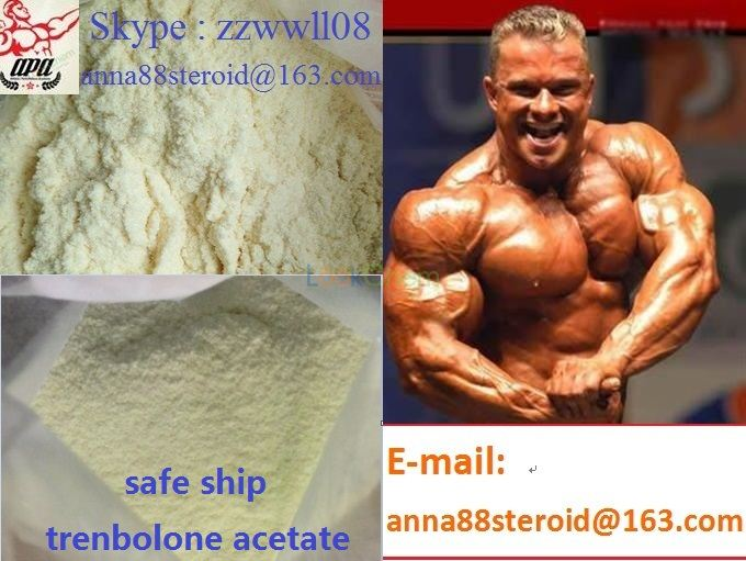 High Quality Muscle Building Steroid Anabolic /Trenbolone acetate(10161-33-8)