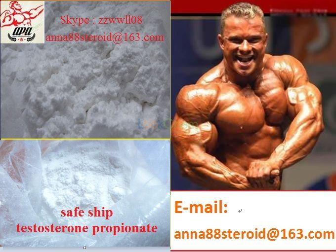 Best Price High Quality Muscle Building Steroid Hormones Testosterone Propionate(57-85-2)