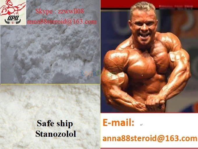 Best Price High Quality Muscle Building Steroid Hormones Stanozolol / Winstrol(10418-03-8)