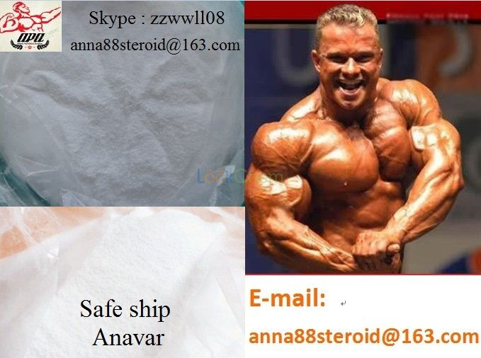 High Quality Muscle Building Steroid Anabolic /Anavar/Oxandrolone(53-39-4)