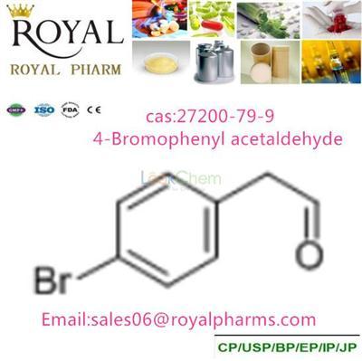 4-Bromophenyl acetaldehyde   CAS:27200-79-9
