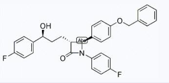 2-Azetidinone, 1-(4-fluorophenyl)-3-[(3S)-3-(4-fluorophenyl)-3-hydroxypropyl]-4-[4-(phenylmethoxy)phenyl]-, (3R,4S)-(163222-32-0)