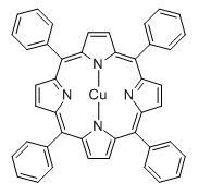 5,10,15,20-Tetraphenyl-21H,23H-porphine copper(II)(14172-91-9)