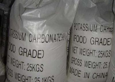 Potassium Carbonate(Food Addictive Grade), CAS 584-08-7