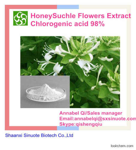 Hight quality Factory supplier nature 10%-98%HoneySuchle Flowers Extract