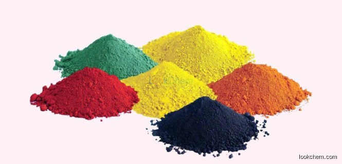 iron oxide red/green/yellow/orange/blue/brown/black factory