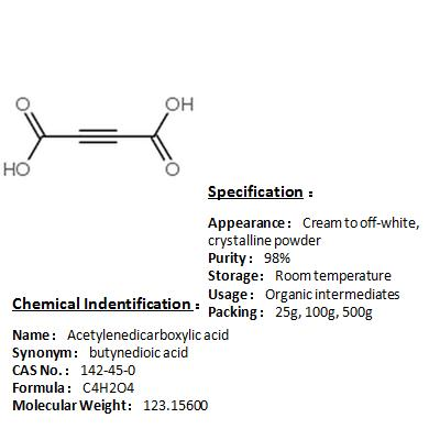 In stock Acetylenedicarboxylic acid 142-45-0