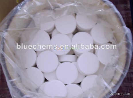 TCCA Trichloroisocyanuric Acid white powder, granules or tablets
