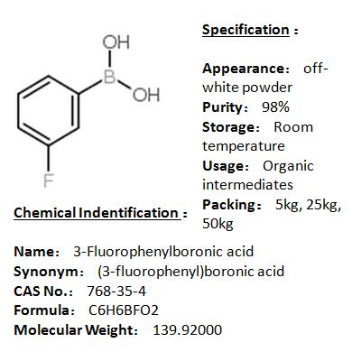 In stock 3-Fluorophenylboronic acid 768-35-4