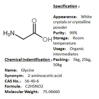 Manufacturer Glycine 56-40-6