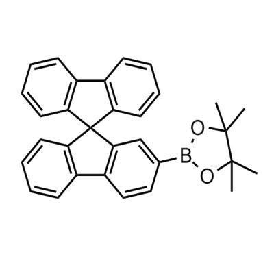 2-(9,9'-spirobi[fluoren]-2-yl)-4,4,5,5-tetramethyl-1,3,2-dioxaborolane(884336-44-1)