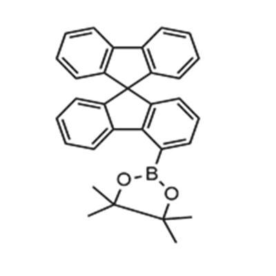 4,4,5,5-tetramethyl-2-(9,9'-spirobi[9H-fluoren]-4-yl)-1,3,2-Dioxaborolane(1161009-89-7)