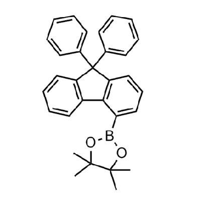2-(9,9-diphenyl-9H-fluoren-4-yl)-4,4,5,5-tetramethyl-1,3,2-dioxaborolane(1259280-37-9)