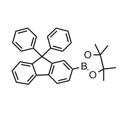 2-(9,9-Diphenyl-9H-fluoren-2-yl)-4,4,5,5-tetramethyl-1,3,2-dioxaborolane(462128-39-8)
