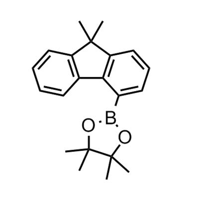 2-(9,9-dimethyl-9H-fluoren-4-yl)-4,4,5,5-tetramethyl-1,3,2-dioxaborolane
