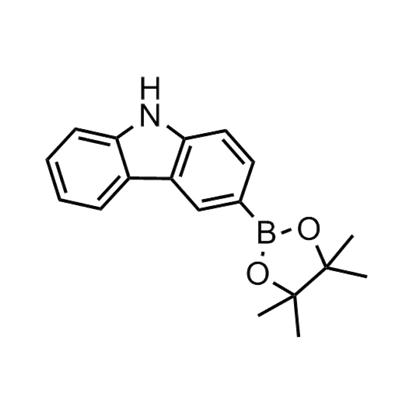[Manufacturer with 99.9% purity]3-(4,4,5,5-tetraMethyl-1,3,2-dioxaborolan-2-yl)-carbazole(855738-89-5)