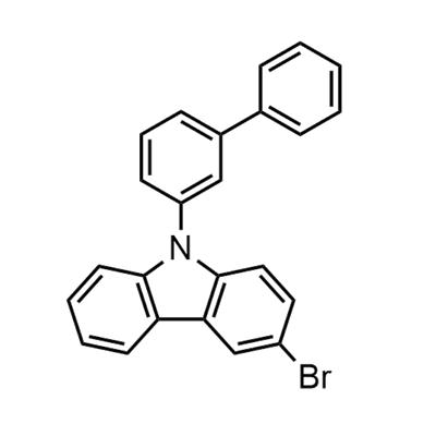 9-([1,1'-biphenyl]-3-yl)-3-broMo-9H-carbazole(1428551-28-3)