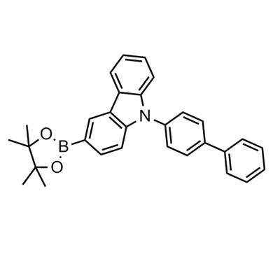 9-([1,1'-biphenyl]-4-yl)-3-(4,4,5,5-tetramethyl-1,3,2-dioxaborolan-2-yl)-9H-carbazole(1391729-66-0)