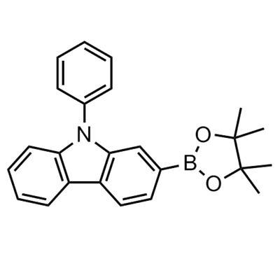 9- Phenyl-2-(4,4,5,5-tetramethyl- 1,3,2-dioxaborolan-2-yl)-9H-carbazole(1246669-45-3)