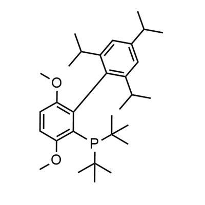 2-(Di-t-butylphosphino)-3,6-dimethoxy-2'-4'-6'-tri-i-propyl-1,1'-biphenyl(1160861-53-9)