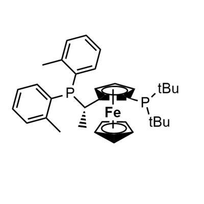 (1S)-1-[Bis(tert-butyl)phosphino]-2-[(1S)-1-[bis(2-methylphenyl)phosphino]ethyl]ferrocene(849924-77-2)