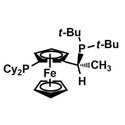 (R)-1-[(S)-2-(Dicyclohexylphosphino)ferrocenyl]ethyli-tert-butylphosphine