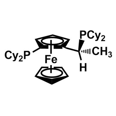 (R)-(-)-1-[(S)-2-Dicyclohexylphosphino)ferrocenyl]ethyldicyclohexylphosphine(167416-28-6)