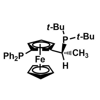 (R)-1-[(S)-2-(Diphenylphosphino)ferrocenyl]ethyldi-tert-butylphosphine(155830-69-6)