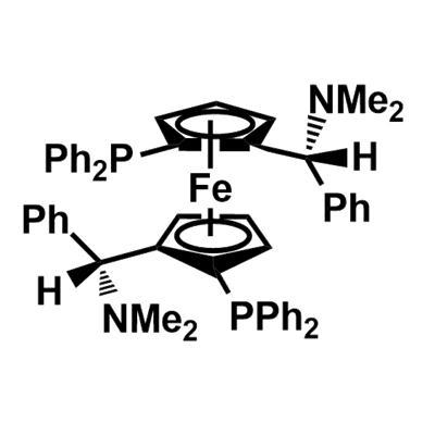 (S,S)-(-)-2,2'-Bis[(R)-(N,N-dimethylamino)(phenyl)methyl]-1,1'-bis(diphenylphosphino)ferrocene(210842-74-3)