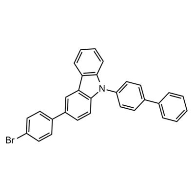 9-(1,1-biphenyl)-4-yl-3-(4-bromophenyl)carbazole