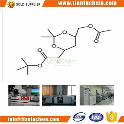 TIANFU-CHEM CAS:1540426-95-6 (4R-Cis)-6-[(Acetyloxy) methyl]-2,2-Dimethyl-1,3-Dioxane-4-Acetic Acid,1,1-Diemthyethyl Ester