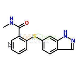 2-(1H-indazol-6-ylthio)-N-methylbenzamide(944835-85-2)