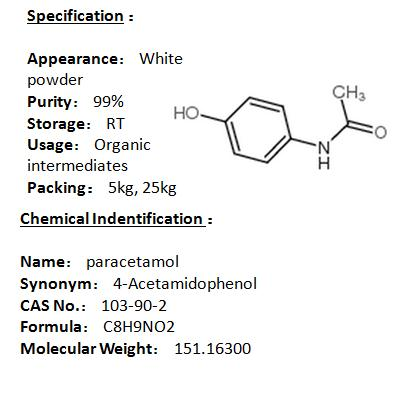 In stock paracetamol 103-90-2