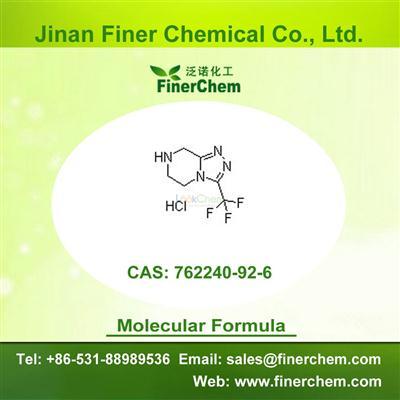 3-(Trifluoromethyl)-5,6,7,8-tetrahydro-[1,2,4]triazolo[4,3-a]pyrazine hydrochloride