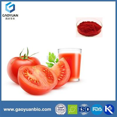100% pure natural tomato extarct lycopene 1% with top quality by China manufacturer gaoyuan factory