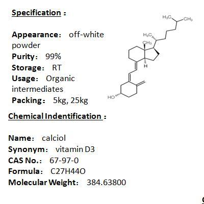 Manufacturer calciol 67-97-0