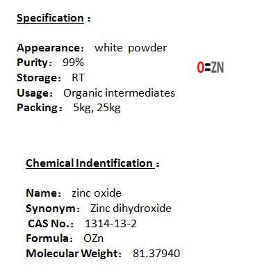 Manufacturer zinc oxide 1314-13-2