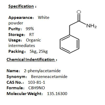 Manufacturer 2-phenylacetamide 103-81-1