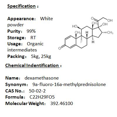 In stock dexamethasone 50-02-2