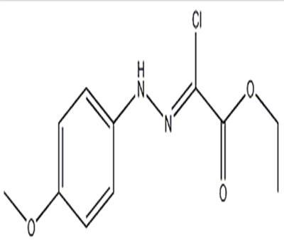 ethyl chloro[2-(4-methoxyphenyl)hydrazinylidene]acetate