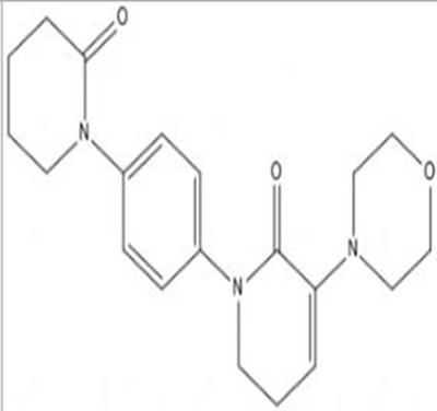 5,6-Dihydro-3-(4-morpholinyl)-1-[4-(2-oxo-1-piperidinyl)phenyl]-2(1H)-pyridinone