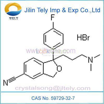 Hot Sales High Purity Citalopram Hydrobromide Low Price CAS 59729-32-7 Top Quality