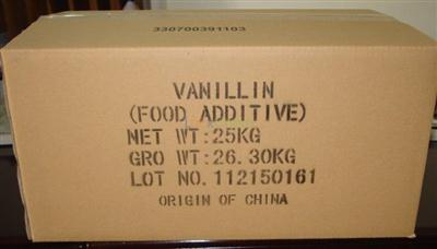 Natural extracts vanillin flavour for beverage CAS NO.: 121-33-5