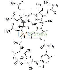 68-19-9  C63H88CoN14O14P  Cyanocobalamin