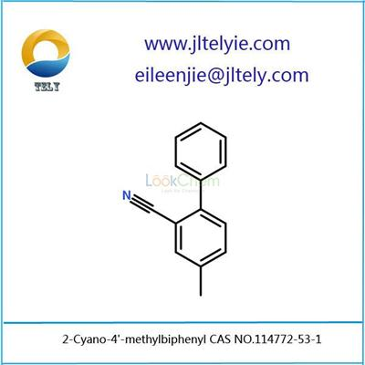 Jilin Tely supply 2-Cyano-4'-methylbiphenyl