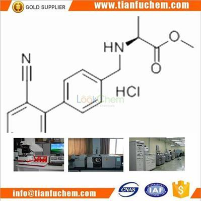 TIANFU-CHEM CAS:482577-59-3 L-VALINE, N-[(2'-CYANO[1,1'-BIPHENYL]-4-YL)METHYL]-, METHYL ESTER, MONOHYDROCHLORIDE