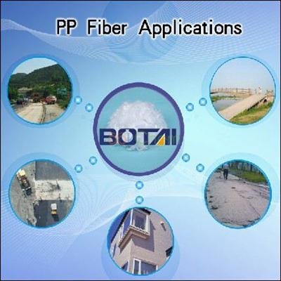 construction materials additives polypropylene fiber pp fiber