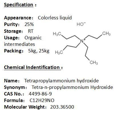 In stock Tetrapropylammonium hydroxide 4499-86-9