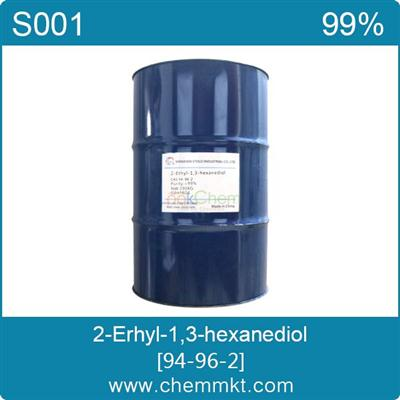 China manufacture 2-Ethyl-1,3-hexanediol CAS 94-96-2(94-96-2)