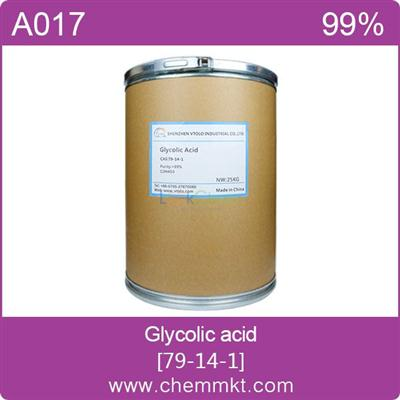 Chemical alpha-Hydroxyacetic acid/glycolic acid CAS 79-14-1(79-14-1)